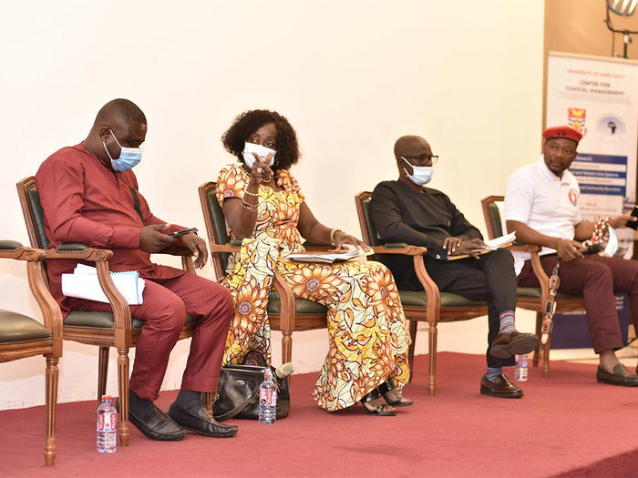 Representatives of political parties at the Town Hall Engagement